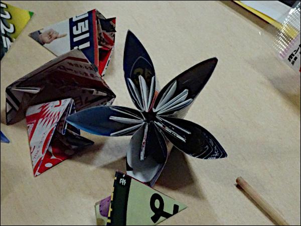 5片の花びらを持つ花